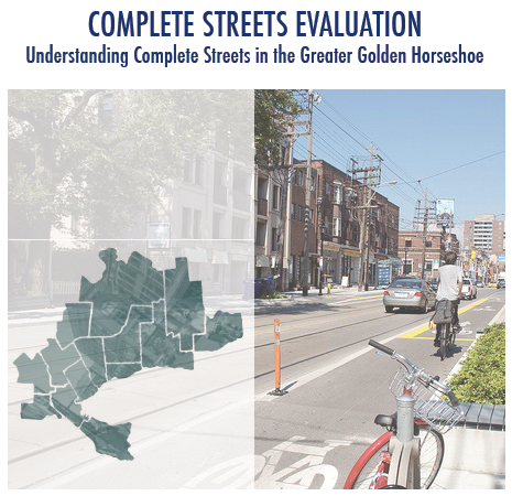 Cover Image, Complete Streets Evaluation report