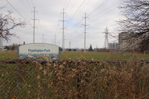 flemingdon park sign