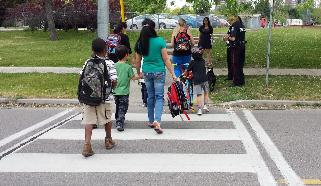 Example of a crosswalk