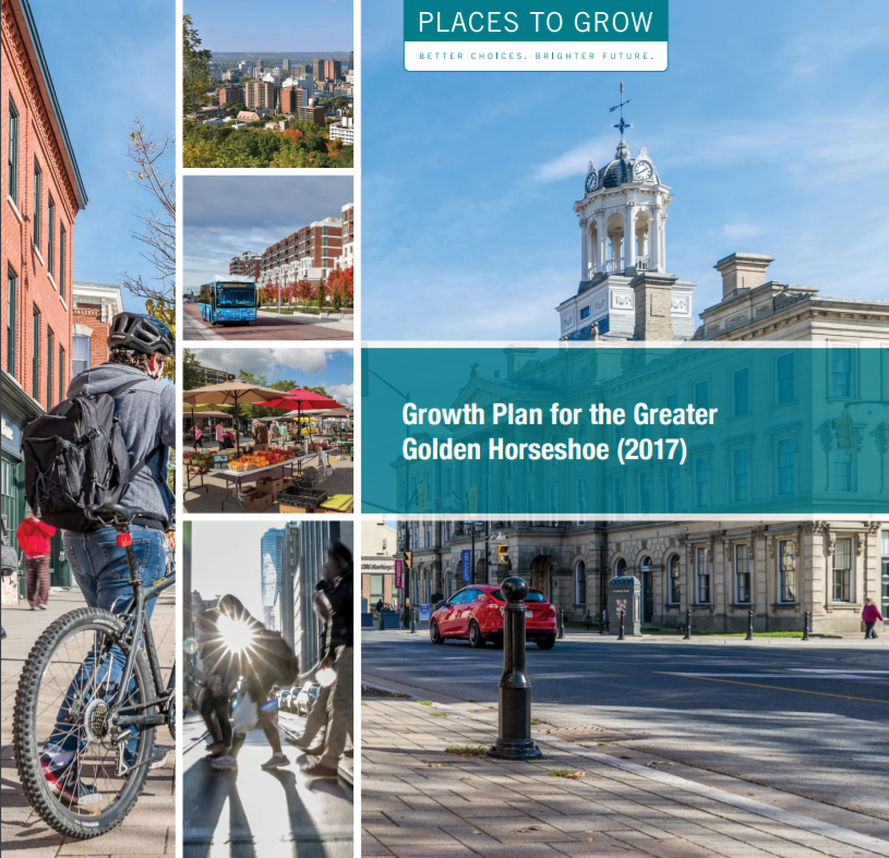 Cover of the 2017 Growth Plan for the Greater Golden Horseshoe