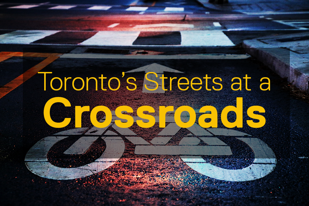 Poster for Toronto's Streets at a Crossroads