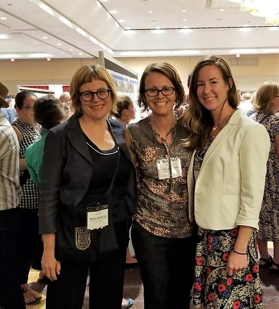 Nancy, Katie and Jennifer at the Walk Bike Places Conference
