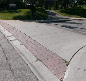 Raised Pedestrian Crossing
