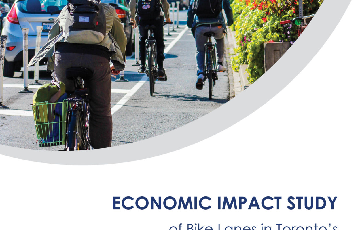 Cover of Economic Impact Study report