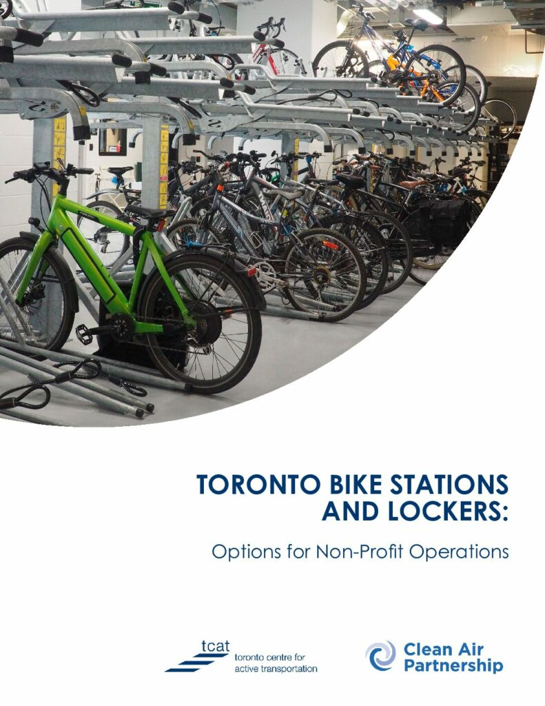 Toronto Bike Stations and Lockers: Options for Non-Profit