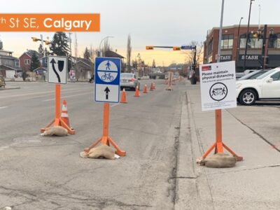 Example street closures – Calgary