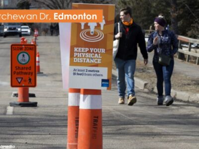 Example street closures – Edmonton