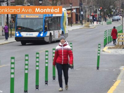 Example street closures – Montreal 1