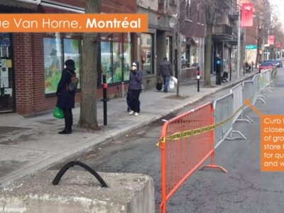 Example street closures- Montreal 2