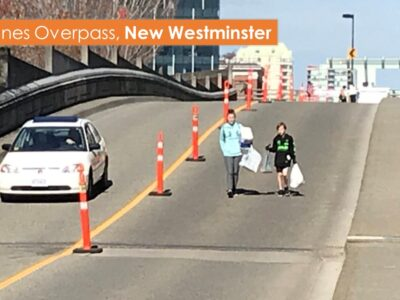 Example street closures- New Westminster