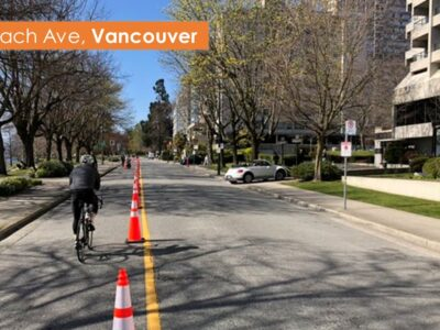Example street closures- Vancouver