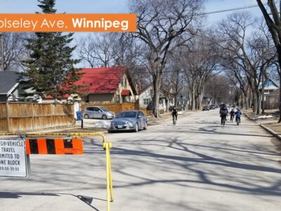 Example street closures – Winnipeg